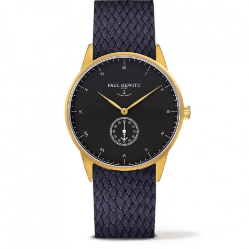 Paul Hewitt Signature Line Black Sea Gold Perlon Navy Blue - PH-M1-G-B-17