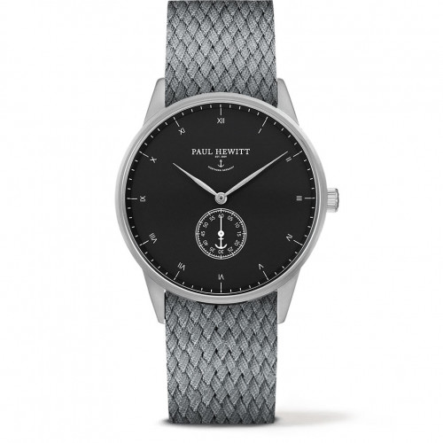 Paul Hewitt Signature Line Black Sea Silver Perlon Grey - PH-M1-S-B-18