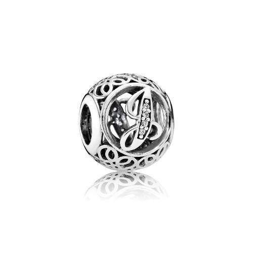 Pandora Charms/Beads Vintage J -791854CZ