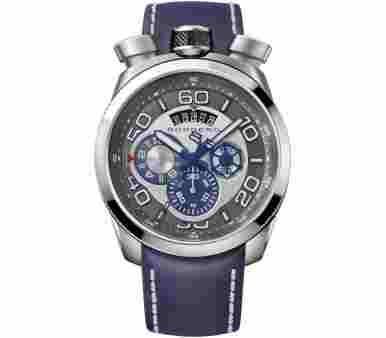 Bomberg Bolt 86 Blue Chronograph -  BS45CHSS.007.3