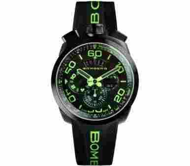 Bomberg Bolt 68 Chronograph Neon Green - BS45CHPBA.028.3