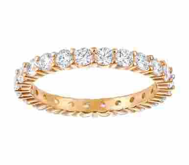 Swarovski Vittore XL Ring Roségoldlber