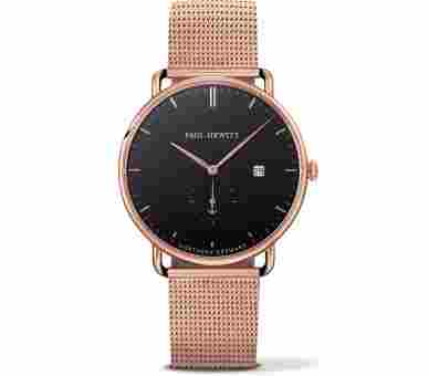 Paul Hewitt Grand Atlantic Line Black Sea Rose Gold Metal Rose Gold - PH-TGA-R-B-4