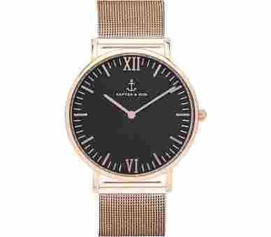 Kapten & Son Black Mesh