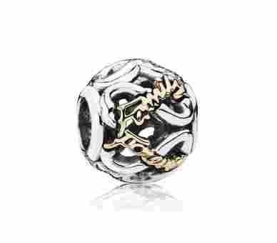 Pandora Charms/Beads Familie für immer - 791525CZ