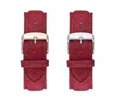 Kapten & Son Bordeaux Canvas Strap
