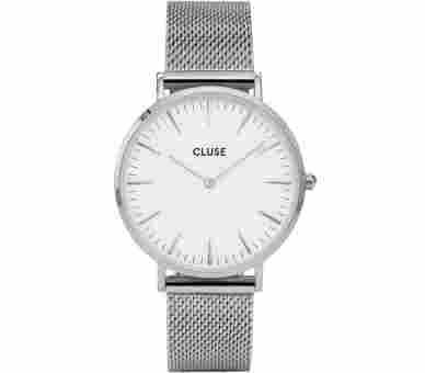 Cluse La Bohème Mesh Silver - CL18105
