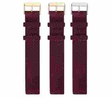 Paul Hewitt Watchstrap Perlon Dark Berry