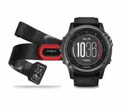 Garmin Outdoor Fenix 3 HR Sapphire Bundle + Hrm4 (Pulsgurt) - 010-01338-74