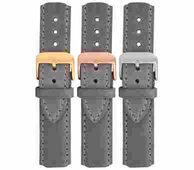 Paul Hewitt Watchstrap Leather Grey