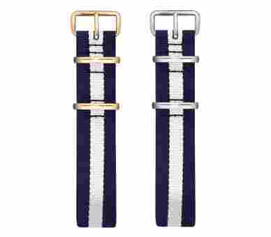 Paul Hewitt Watchstrap Nato Navy Blue-White