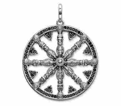 Thomas Sabo Anhänger Wheel of Karma - PE668-051-11