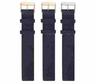 Paul Hewitt Watchstrap Perlon Navy Blue