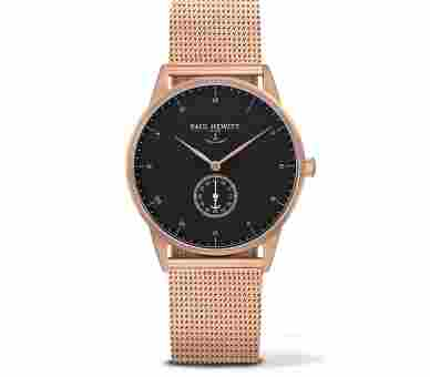 Paul Hewitt Signature Line Black Sea Rose Gold Metal Rose Gold - PH-M1-R-B-4