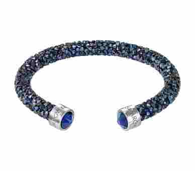 Swarovski Crystaldust Armreif Blau