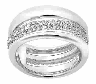 Swarovski Exact Ring Silber