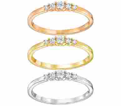 Swarovski Frisson Ring Set