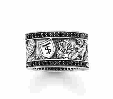 Thomas Sabo Ring Rebel at heart - TR1801-051-11