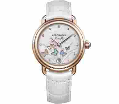 Aerowatch 1942 Butterfly Limited Edition (888 pcs.) - A 44960 RO05