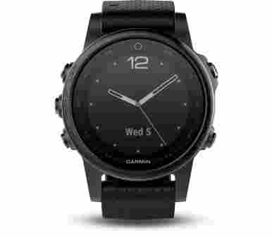 Garmin Fenix 5S Sapphire Black - 010-01685-11