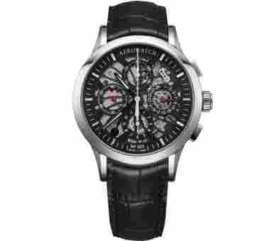 Aerowatch Les Grandes Classiques Skeletonised Chronograph Automatic - A 61968 AA05 SQ