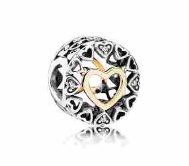 Pandora Charms/Beads Kreis der Liebe - 792009CZ