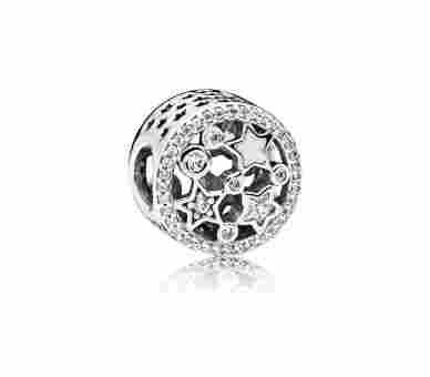 Pandora Glanzvolle Sterne  Charms/Beads - 796373CZ