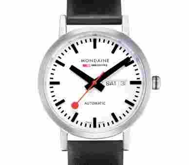 Mondaine Classic 40 Automatic Day Date - A132.30359.16SBB