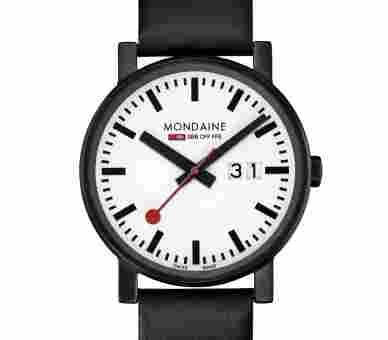 Mondaine Evo 40 Big Date black&white - A627.30303.61SBB