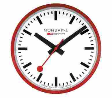 Mondaine Wall Clock 25 cm - A990.CLOCK.11SBC