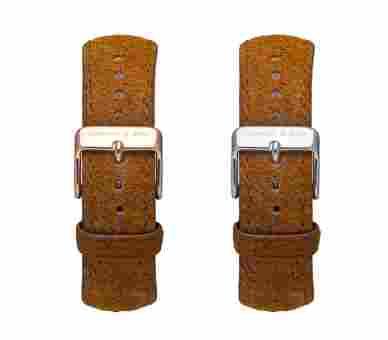 Kapten & Son Brown Vintage Leather Strap