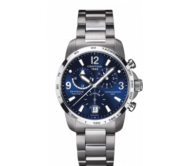 Certina DS Podium Chronograph GMT - C001.639.44.047.00