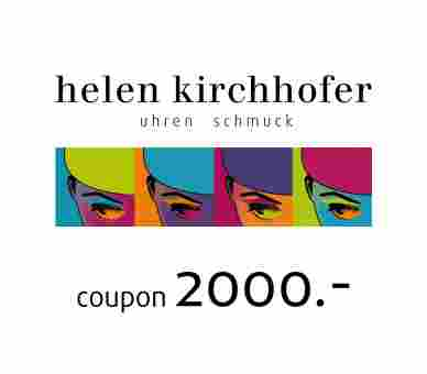 Helen Kirchhofer Gutschein 2000.-