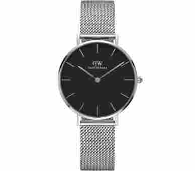 Daniel Wellington Classic Petite Sterling Black - DW00100162