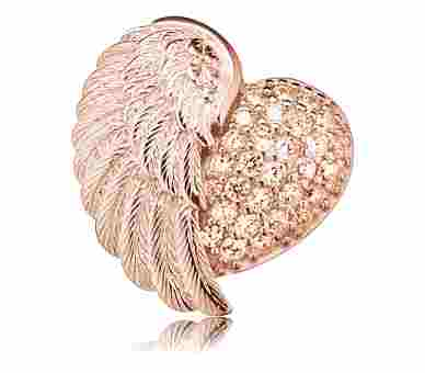Engelsrufer Anhänger Herzflügel - ERP-HEARTWING-ZI-R