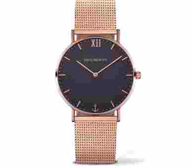 Paul Hewitt Sailor Line Blue Lagoon Rose Gold Metal Rose Gold