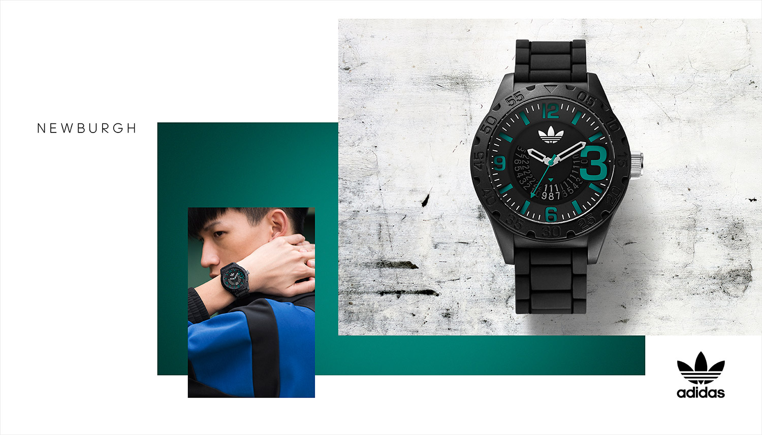 montres adidas hommes
