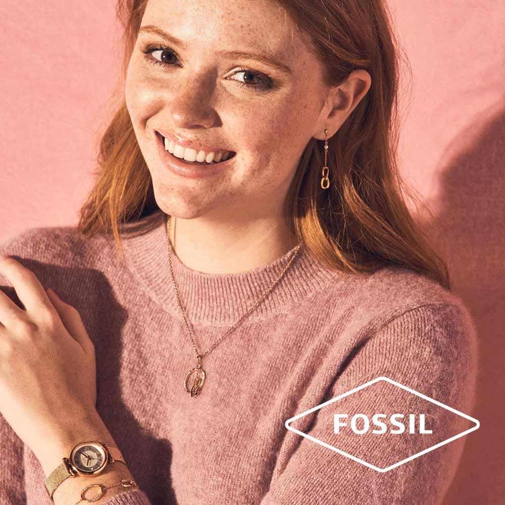 bijoux fossil femmes