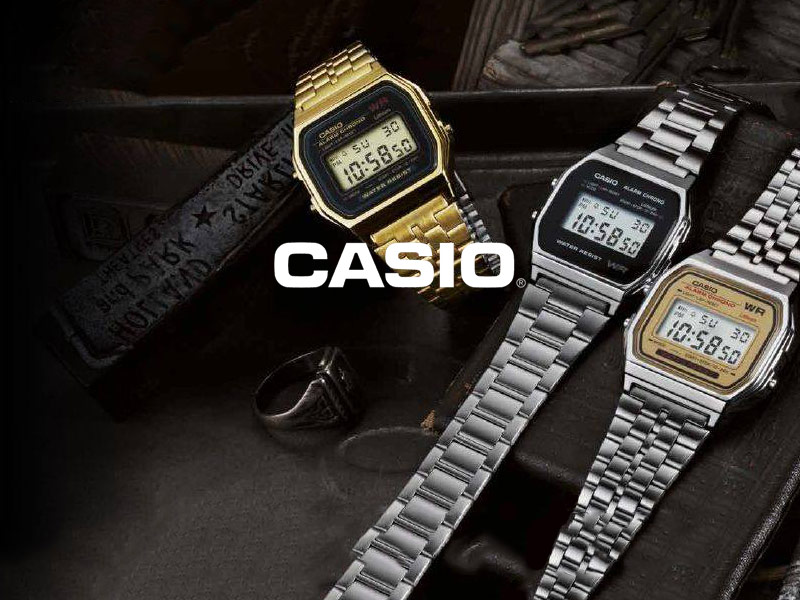 casio collection uhren