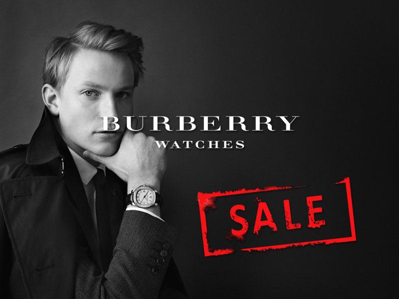 % sale montres burberry