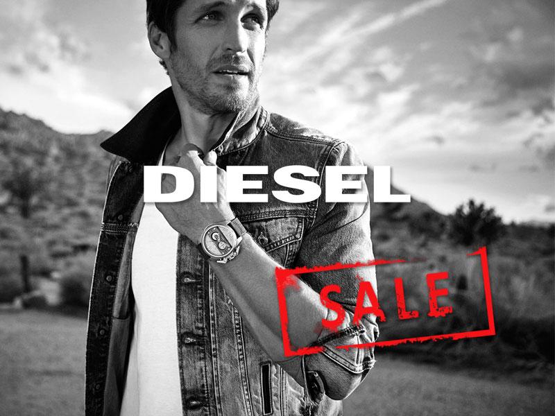 % sale montres diesel