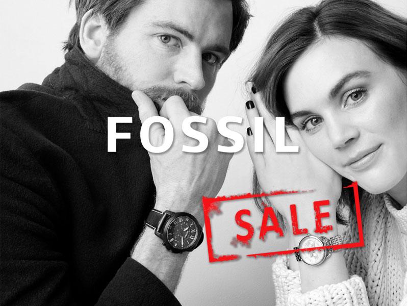 % sale fossil uhren & schmuck